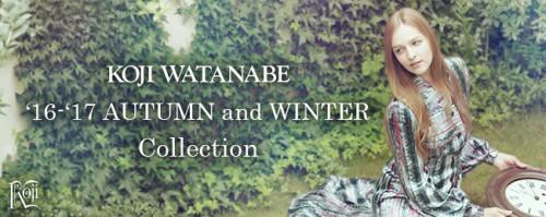 KOJI WATANABE '16-'17 AUTUMN and WINTER Collection